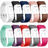 Vancle Soft Sport Accessory Bands for Fitbit Charge 2