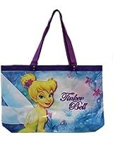 Large Purple Tinkerbell Beach Bag - Jumbo Tinkerbell Tote Bag
