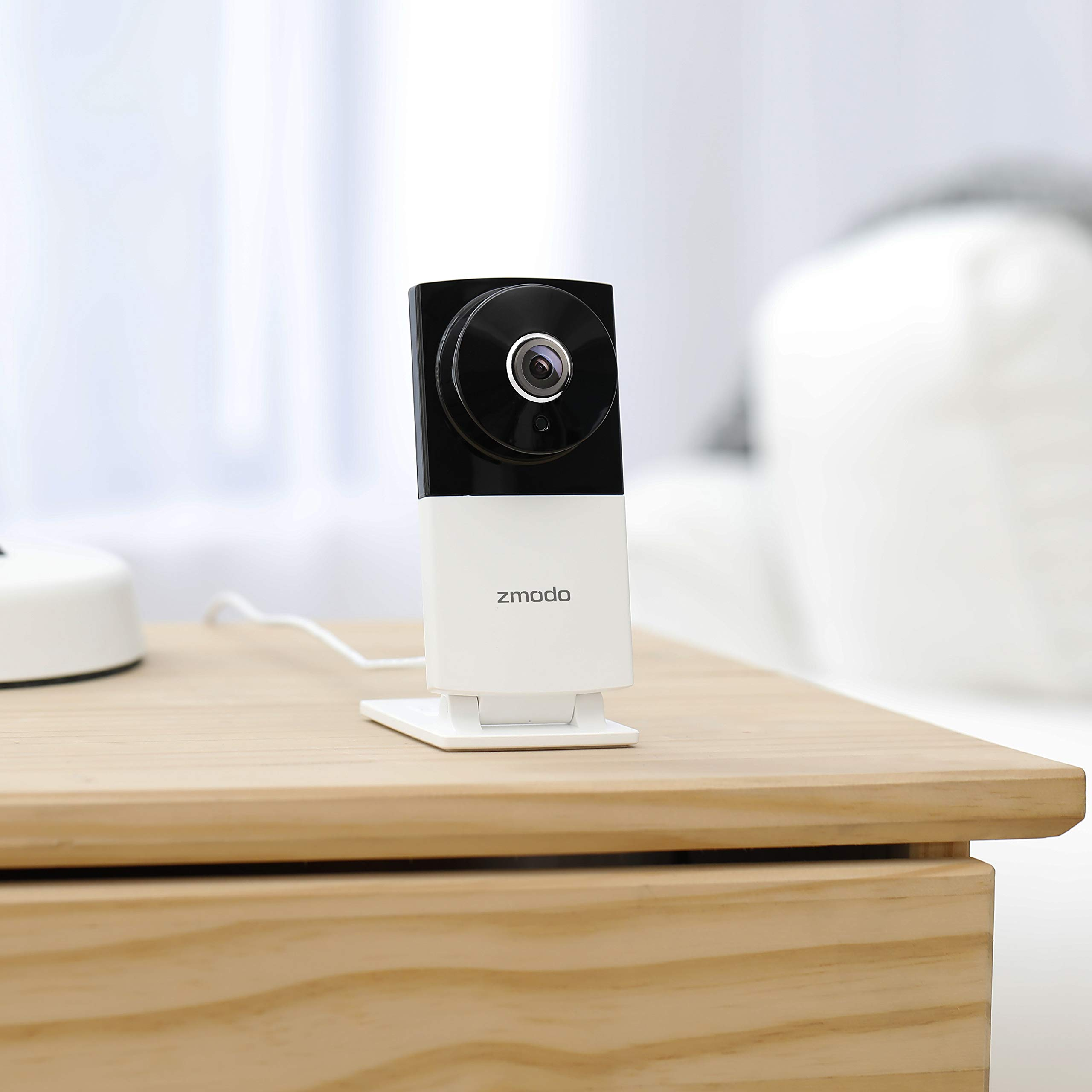 Zmodo 1080p Wide Angle 180 Degrees Wireless Two Way Audio Home Security Camera by Zmodo (Image #2)