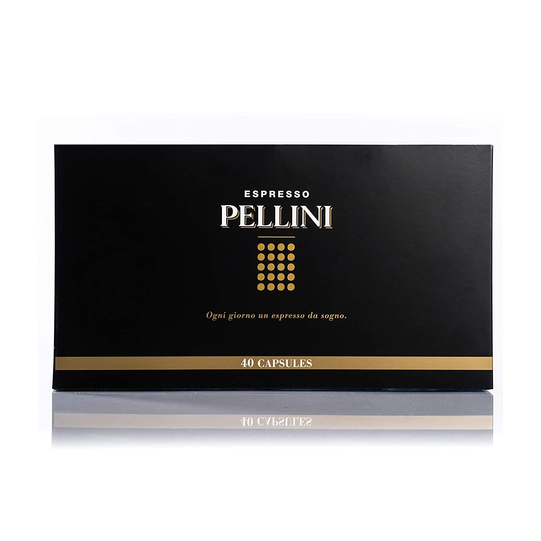 Pellini Caffè Gift Box - 40 Cápsulas Compatibles con Máquina ...