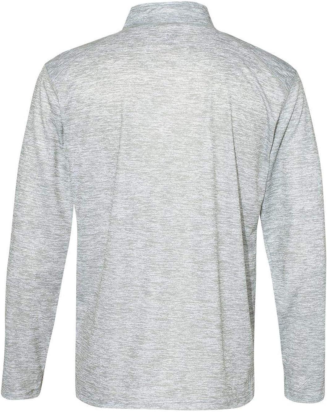 4192 Badger mens Blend 1//4-Zip Pullover
