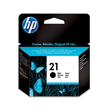 Amazon.com: HP 21 Original Cartuchos de tinta, Negro: Office ...
