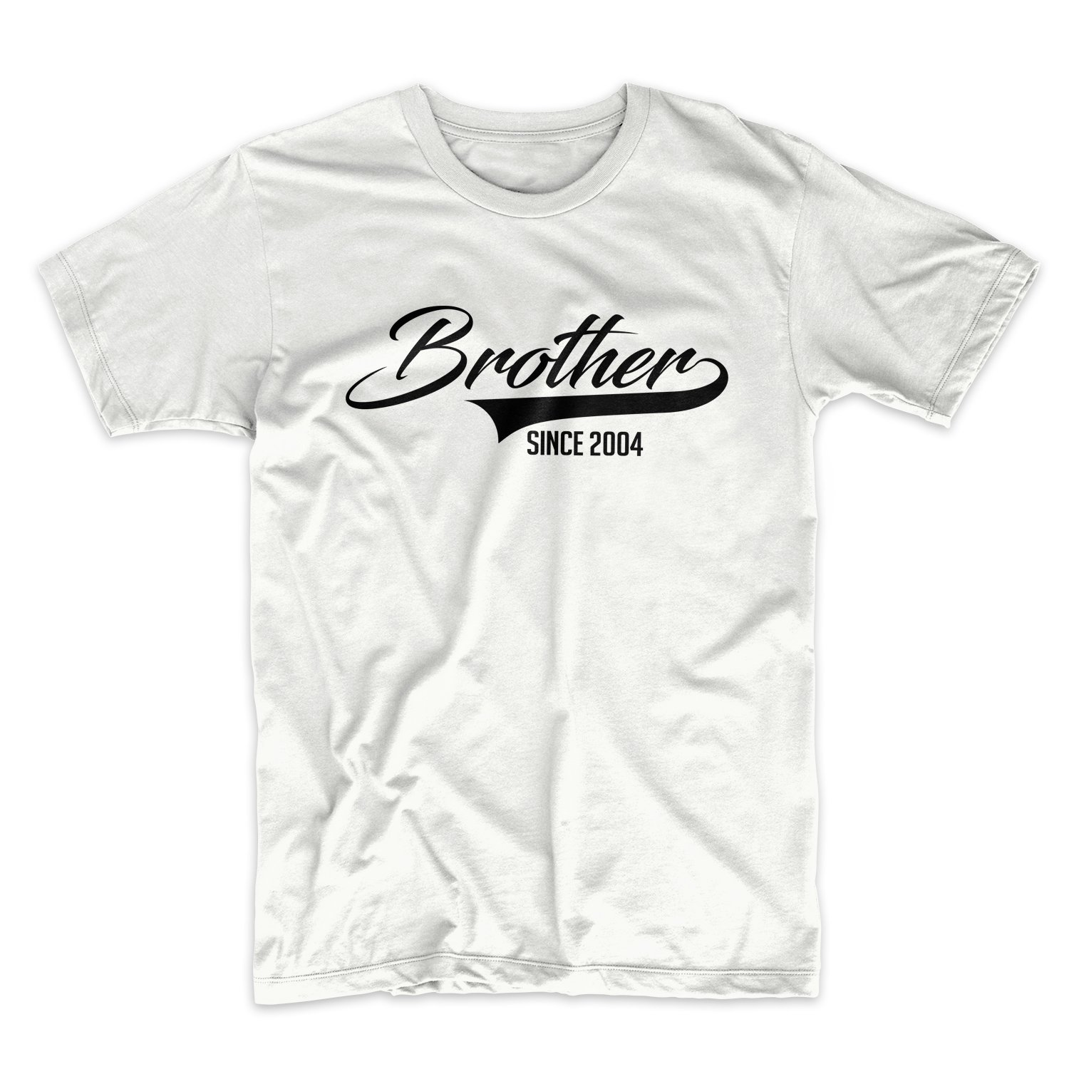 Brother Since 2004 Family Funny Cool Motivational T Shirt X 9593
