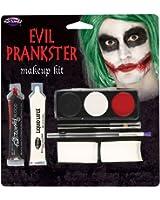Evil Prankster Kit Makeup for Halloween Circus Clown Cosmetics