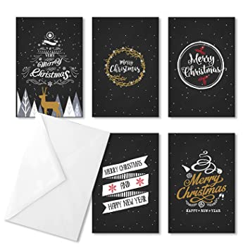 Amazon christmas vintage greeting cards set of 30 christmas vintage greeting cards set of 30 envelopes included assorted bulk pack m4hsunfo