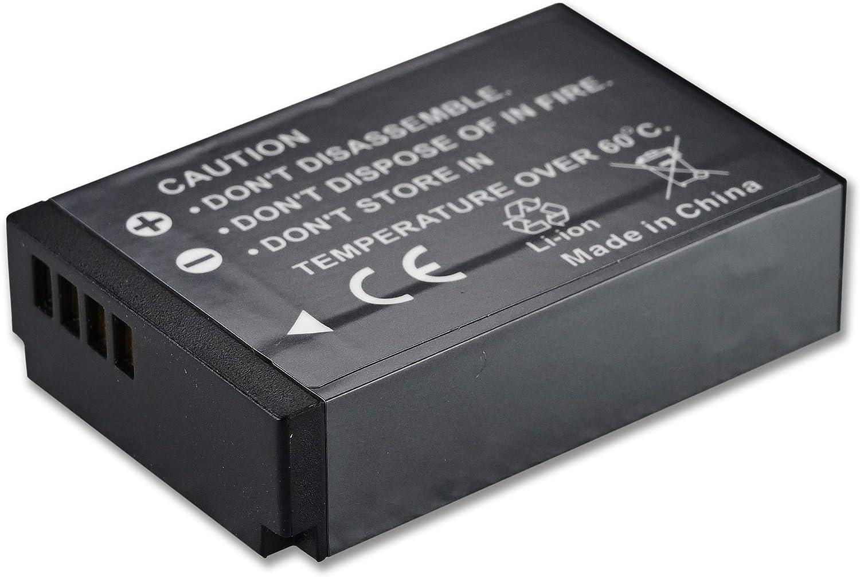 EOS M10 M50 M100 100D M M2,Rebel SL1 Mirrorless Appareil Photo num/érique Batterytec/® Batterie de Remplacement pour Canon cam/éra LP-E12 Kit de Chargeur Portable USB Rechargeable 12 Mois de Garantie