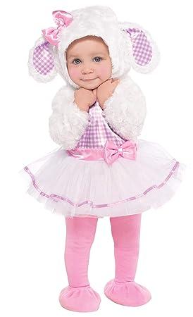 Disfraz de pequeño corderito para bebés en varias tallas