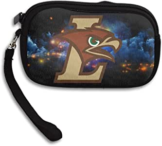 LHLKF Lehigh University Mountain Hawks Cool Purse Credit Card Wallet With Zipper Closure