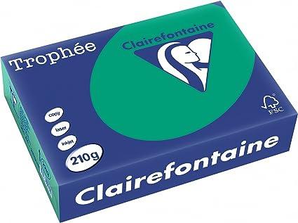 Rame de papier//papier cartonn/é Clairefontaine Troph/ée rouge cardinal A4/21/x 29,7/cm 250/feuilles