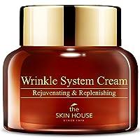 [The Skin House] Wrinkle System Cream (50ml,1.69 fl.oz) - Anti-wrinkle nourishing cream, Anti-aging, skin elasticity, collagen rejuvenating cream for firming and lifting