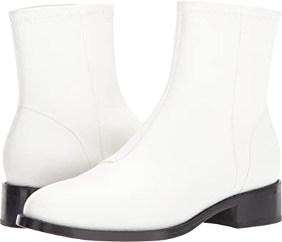 292c3d131 Amazon.com | Opening Ceremony Women's Dani Flat Boot White 36 B EU | Boots