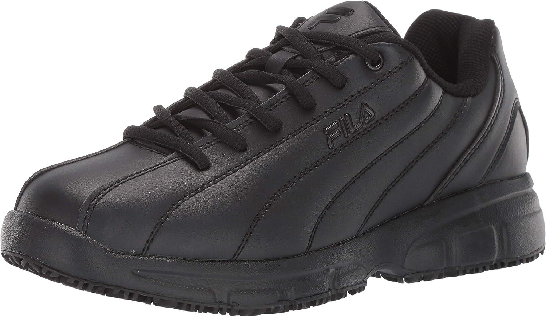 Fila Men's Memory Niteshift Slip Resistant Work Shoe Food Service