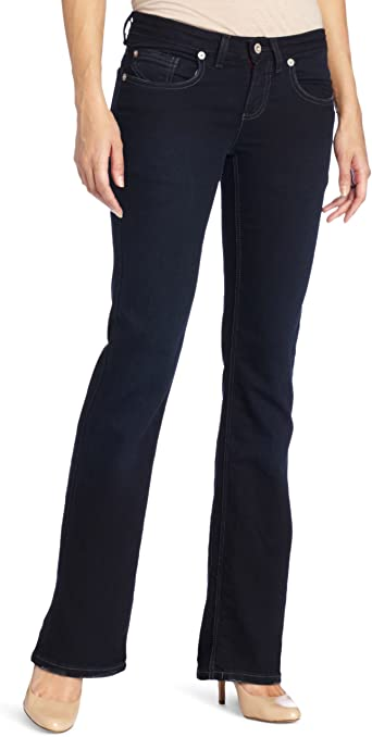 Dickies Girl //Women/'s Relaxed Slim Bootcut Stretch Blue Denim Jeans Pants .NEW.