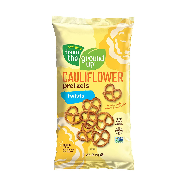 From The Ground Up, Original Cauliflower Pretzel Twists, 4.5 Ounce