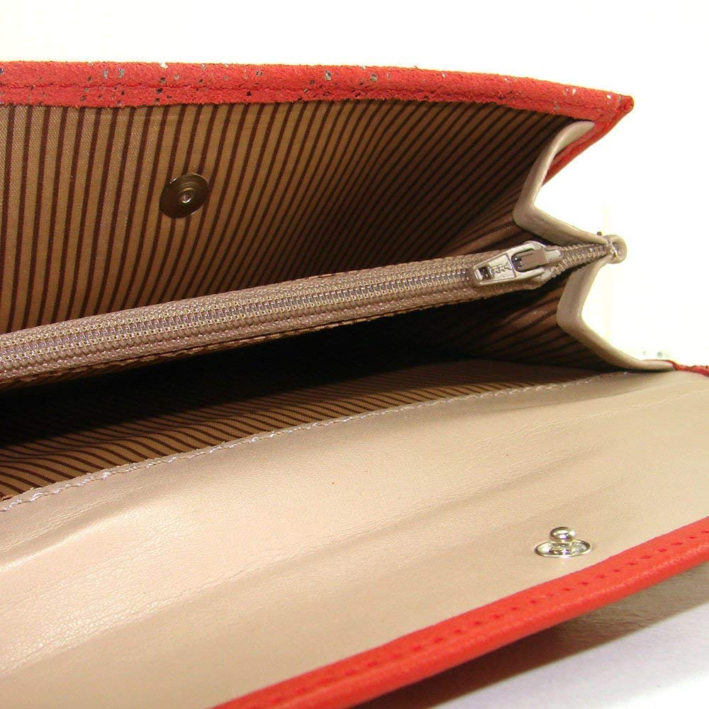 damen portemonnaie Frauen Brieftasche Geldb/örse damen handmade Spain Ref damen geldbeutel gemacht aus haut 23914 Rot Casanova marke