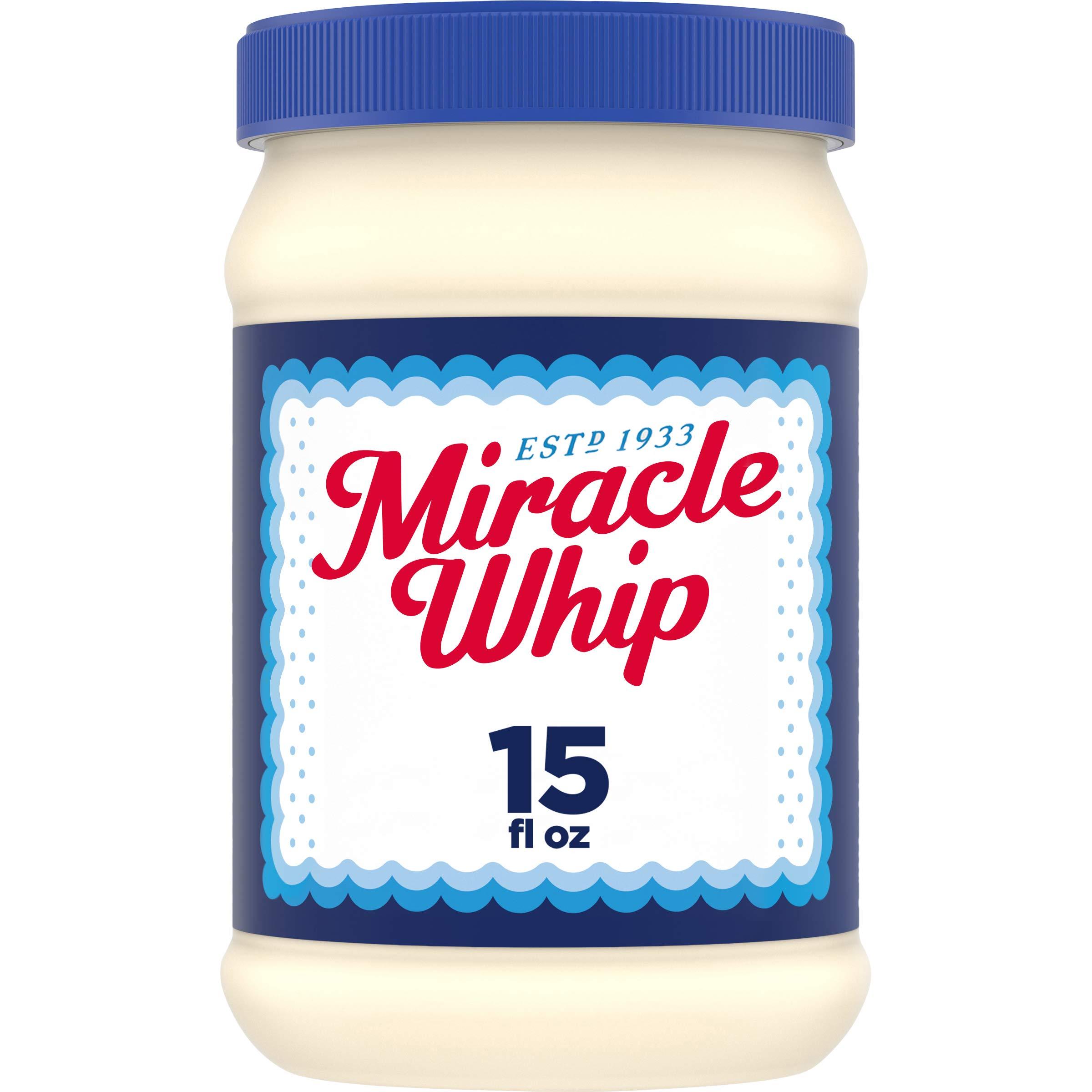 Miracle Whip Original Dressing (15 oz Jars, Pack of 12)