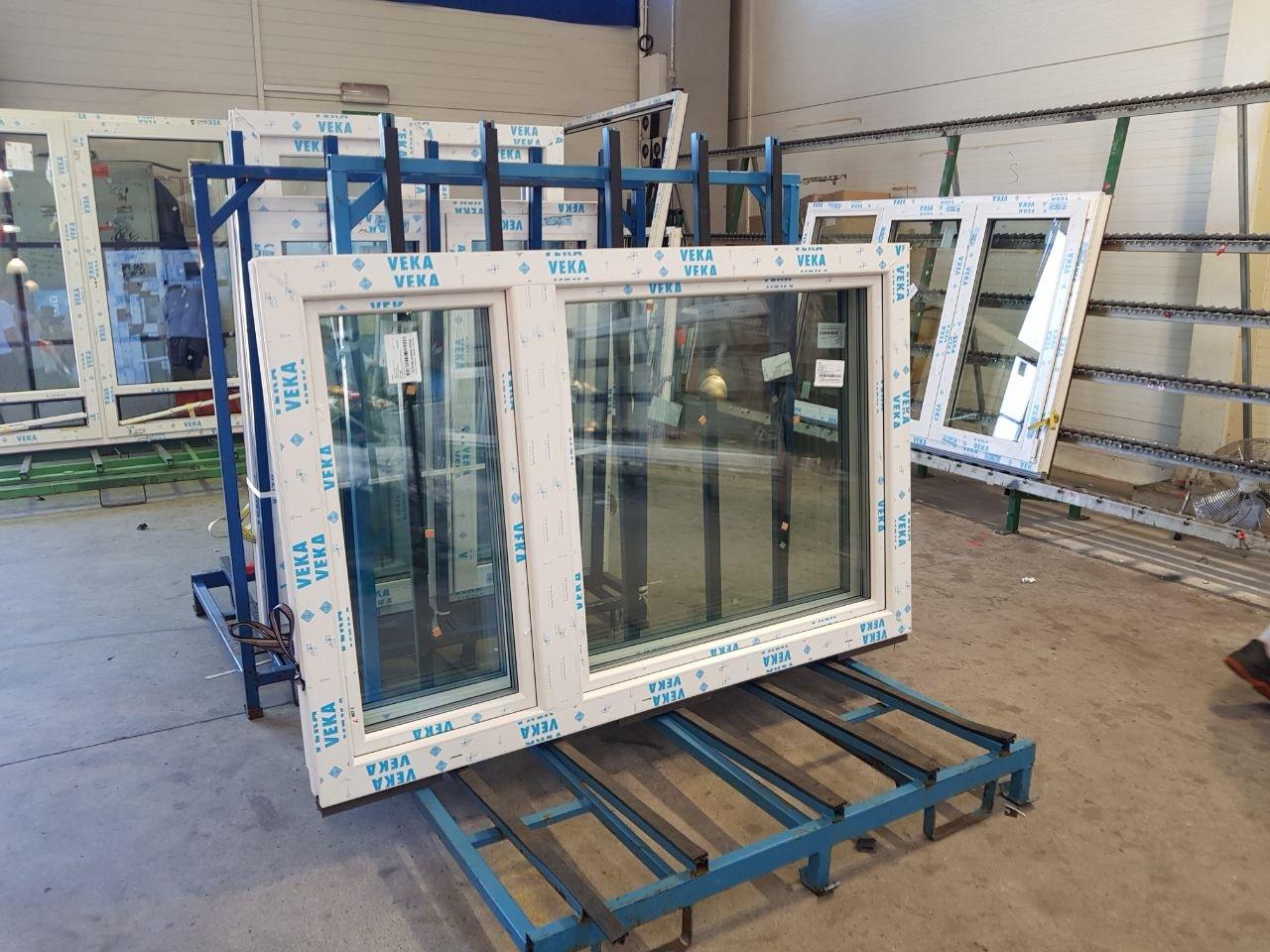 Gut bekannt Kunststoff-Fenster Veka 70 AD Weiß: Amazon.de: Baumarkt DK61