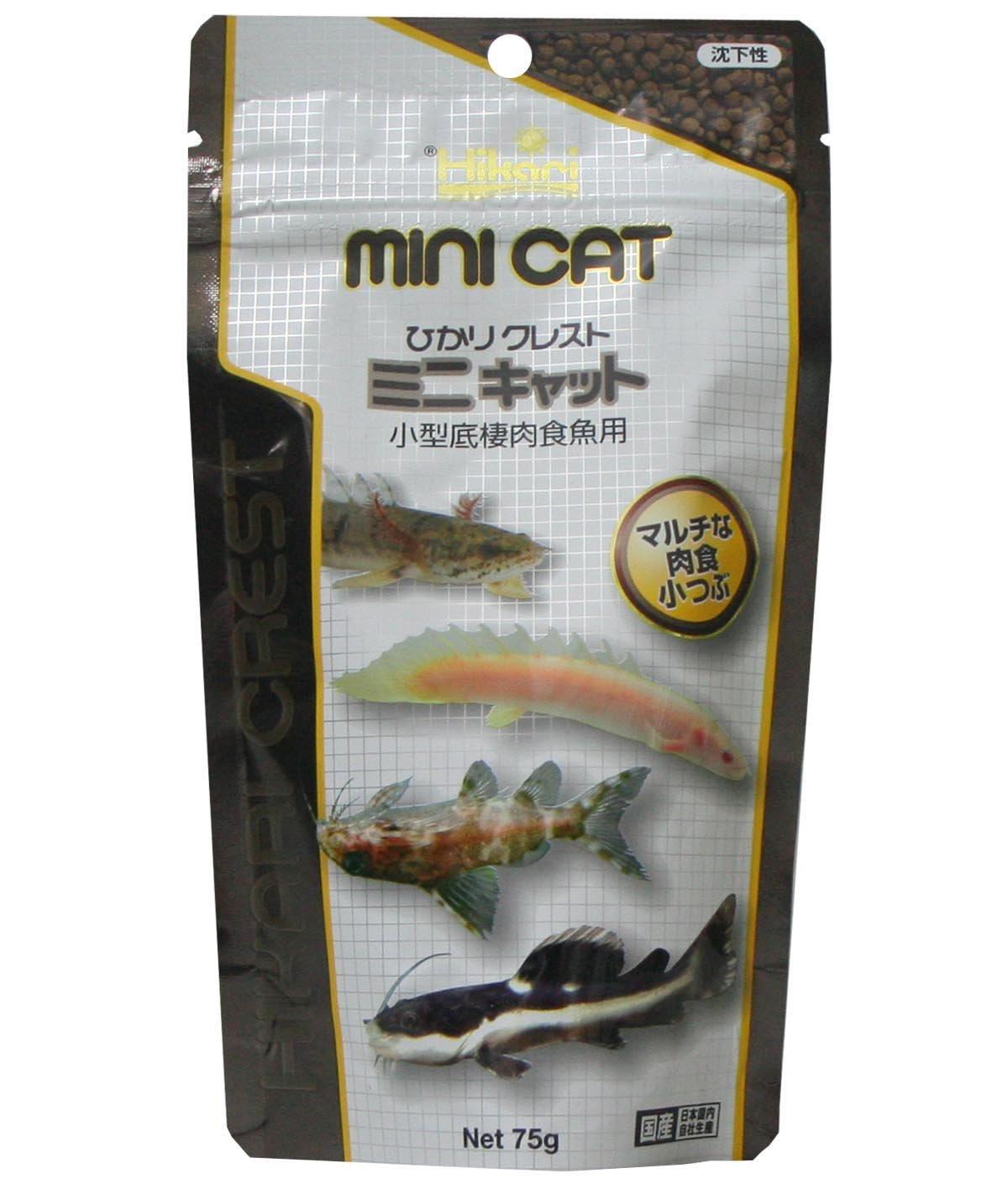 Hikari(ひかり) ひかりクレスト ミニキャット 小型底棲肉食魚用 75g