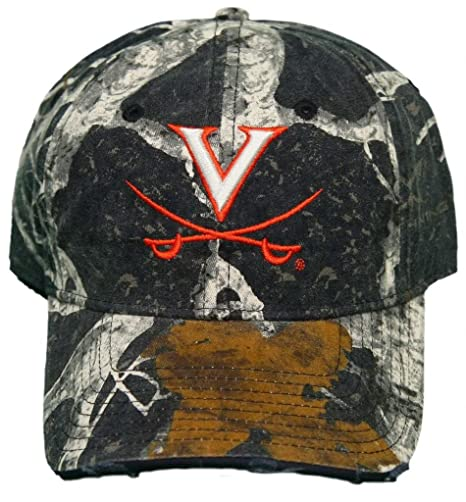 106246219ca16 Image Unavailable. Image not available for. Color  New! University of  Virginia Cavaliers Adjustable Buckle Back Camo Cap ...