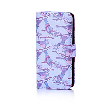 88421843d1ef68 32nd Floral Series - Design PU Leather Book Wallet Case Cover for HTC U Play