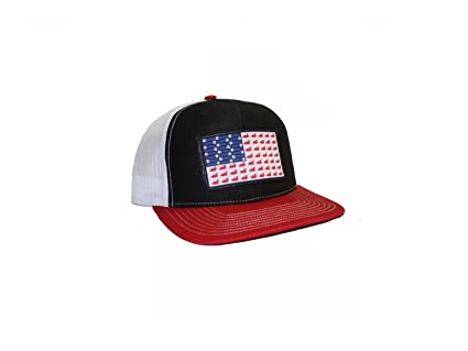 26fad9f8535 Image Unavailable. Image not available for. Color  Ducks And Bullets Flag  Patch Trucker Hat