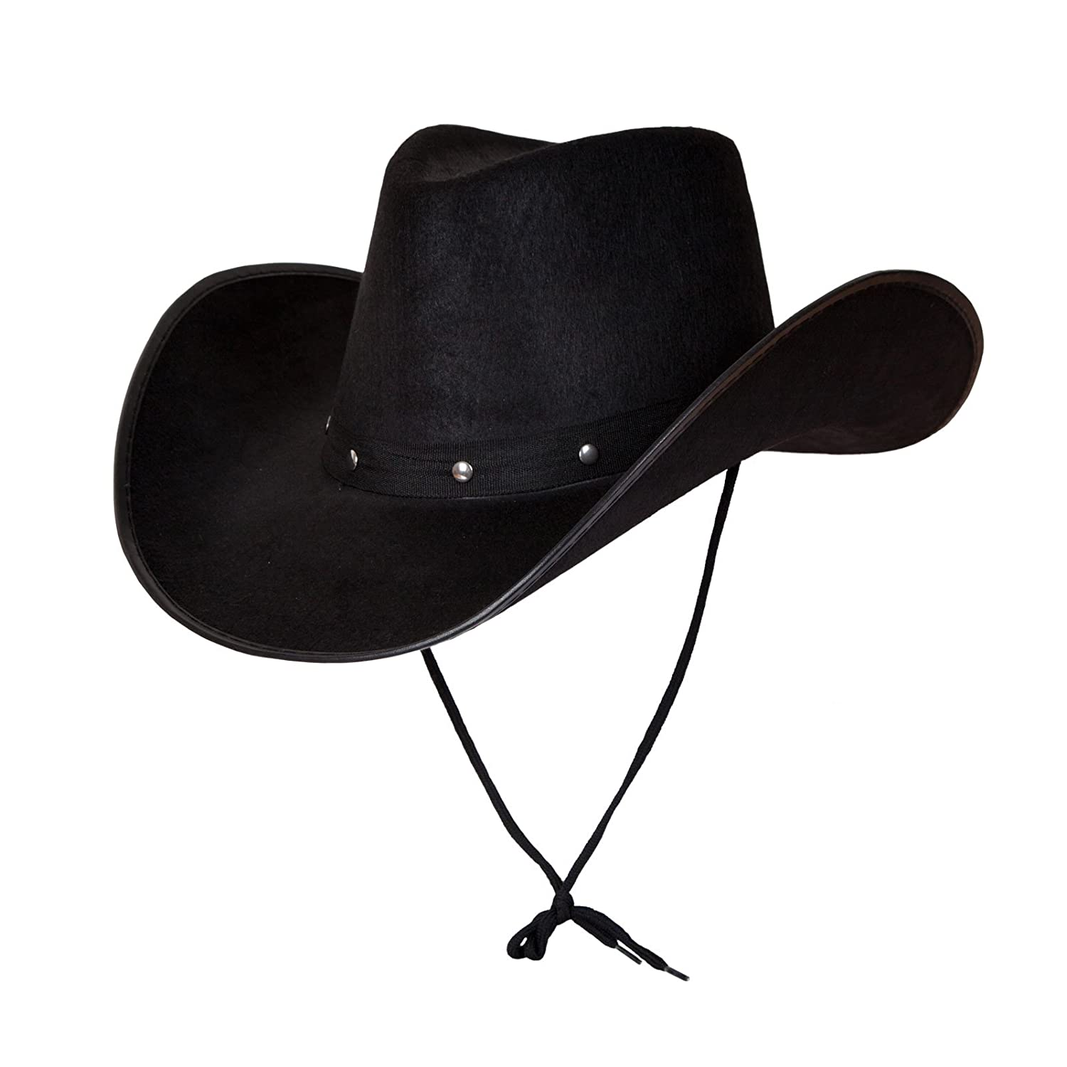 4baaac58 Adult Texan Cowboy Hat Black Fancy Dress Party Accessory Country Western  Rancher: Amazon.co.uk: Clothing