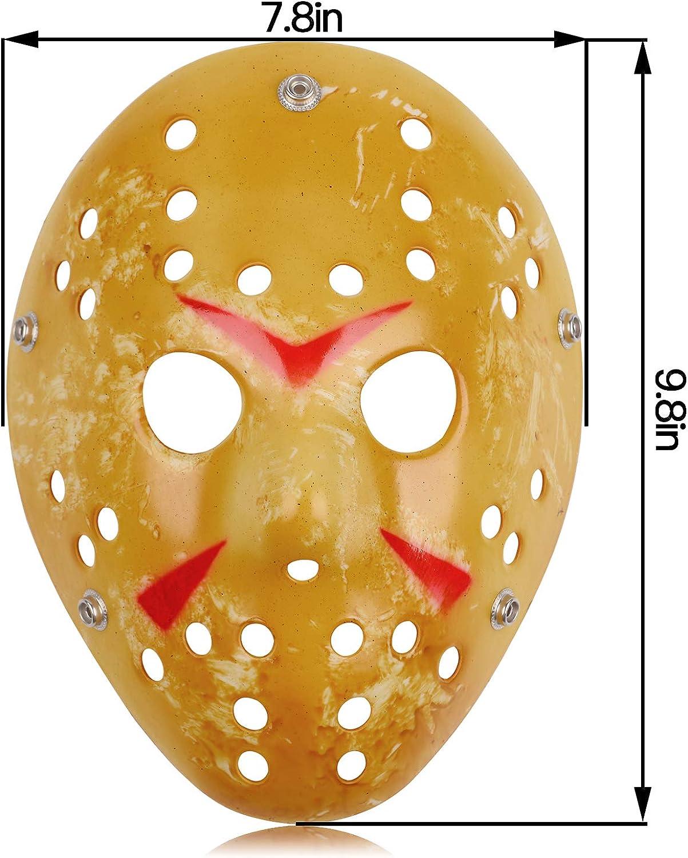 Jason Full Face Head PVC Hockey Mask Novelty Costume Party Horror Prop Halloween Festival Mask