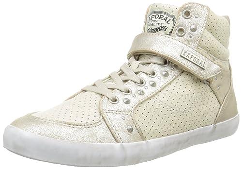 Kaporal Snatchy, Sneakers Hautes femme, Gris, 37 EU