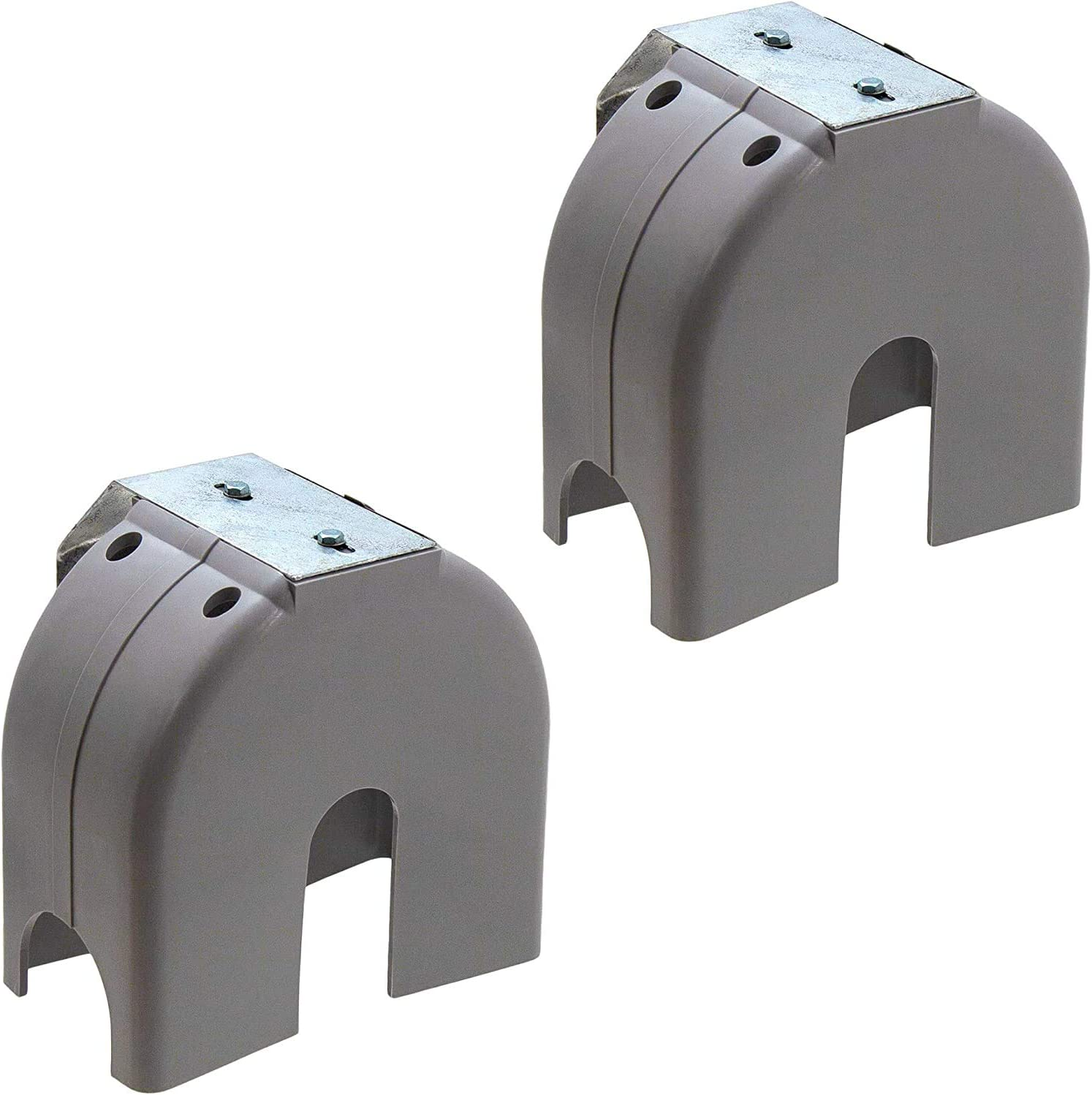 2 Pack Cantilever Gate Roller Poly Cover w//Bracket