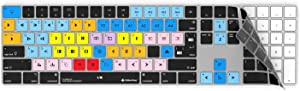 Avid Media Composer Keyboard Cover | Fits Wireless Apple Magic Keyboard with Numeric Pad