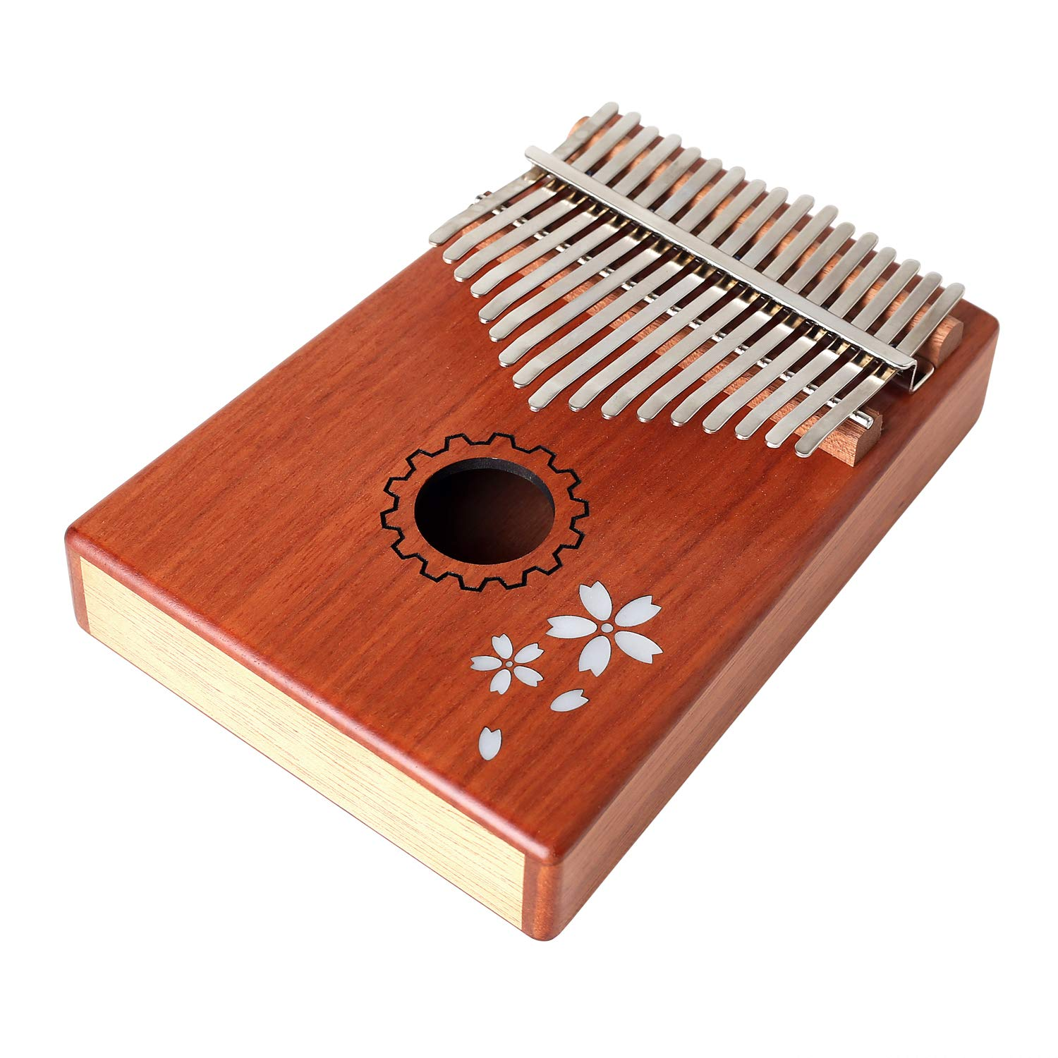 Kalimba Thumb Piano - Portable Music Instrument Gift for Kids,Beginners, Friends,Lovers - DIY and Study Music(17 Keys,Easy to Learn, Relax Your Boby) by DriverGenius (Image #5)