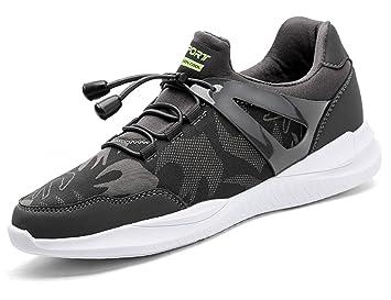 e3a11688c39 GNEDIAE Chaussures de Course Sports Fitness Gym athlétique Baskets Sneakers  Mixte Adulte Chaussures de Multisports Outdoor