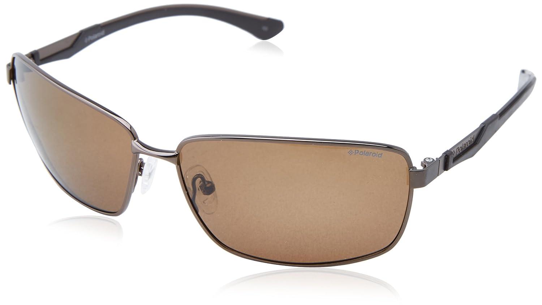 851efba3c4e POLAROID PREMIUM Sunglasses X 4413 S 0Ept Brown 63MM  Amazon.co.uk  Clothing