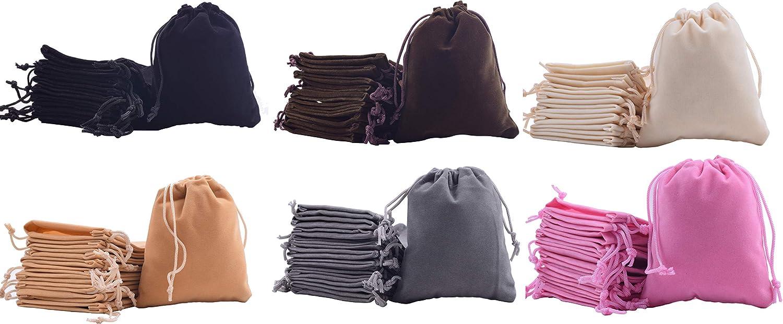 Amazon.com: Sansam - Bolsas de regalo de terciopelo, varios ...