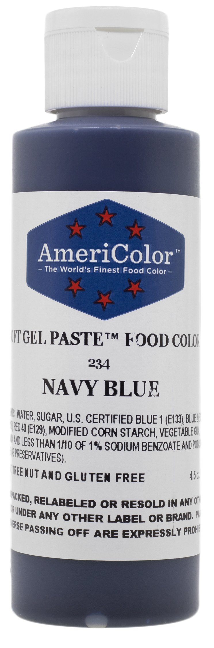 Amazon nifty shades of gray food color grocery gourmet food americolor soft gel paste food color 45 ounce navy blue nvjuhfo Choice Image