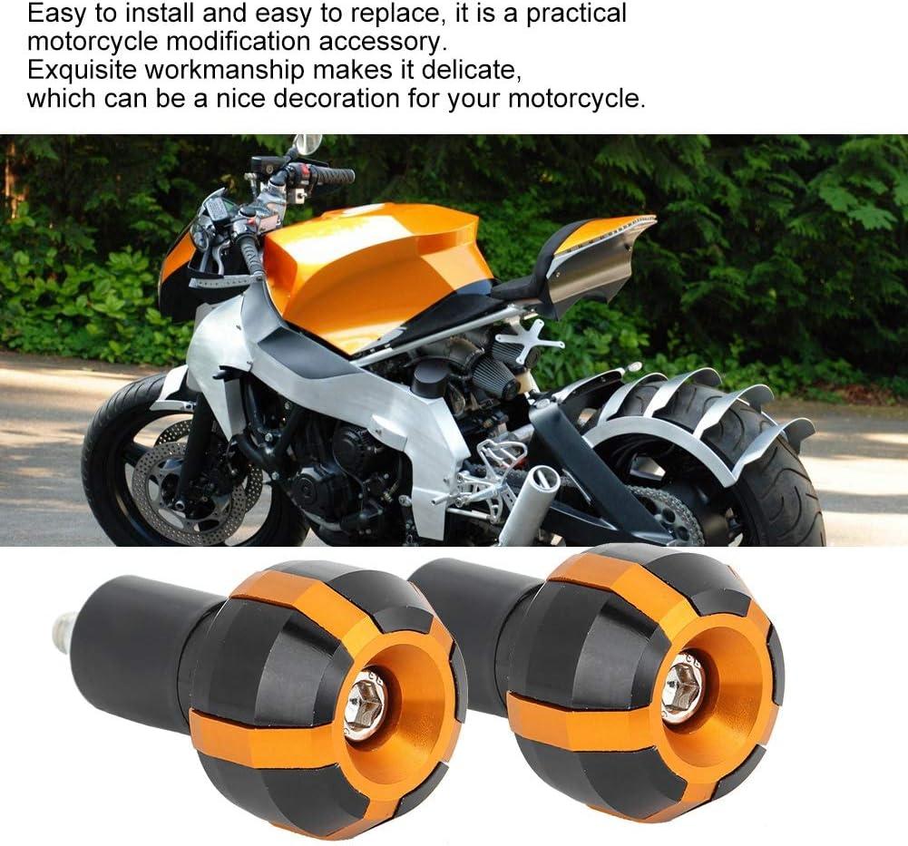 Aramox Motorrad Lenkerenden 2 St/ück Universal Motorrad Modifikation Lenkerende Balance Stecker Handgriff Zubeh/ör Black
