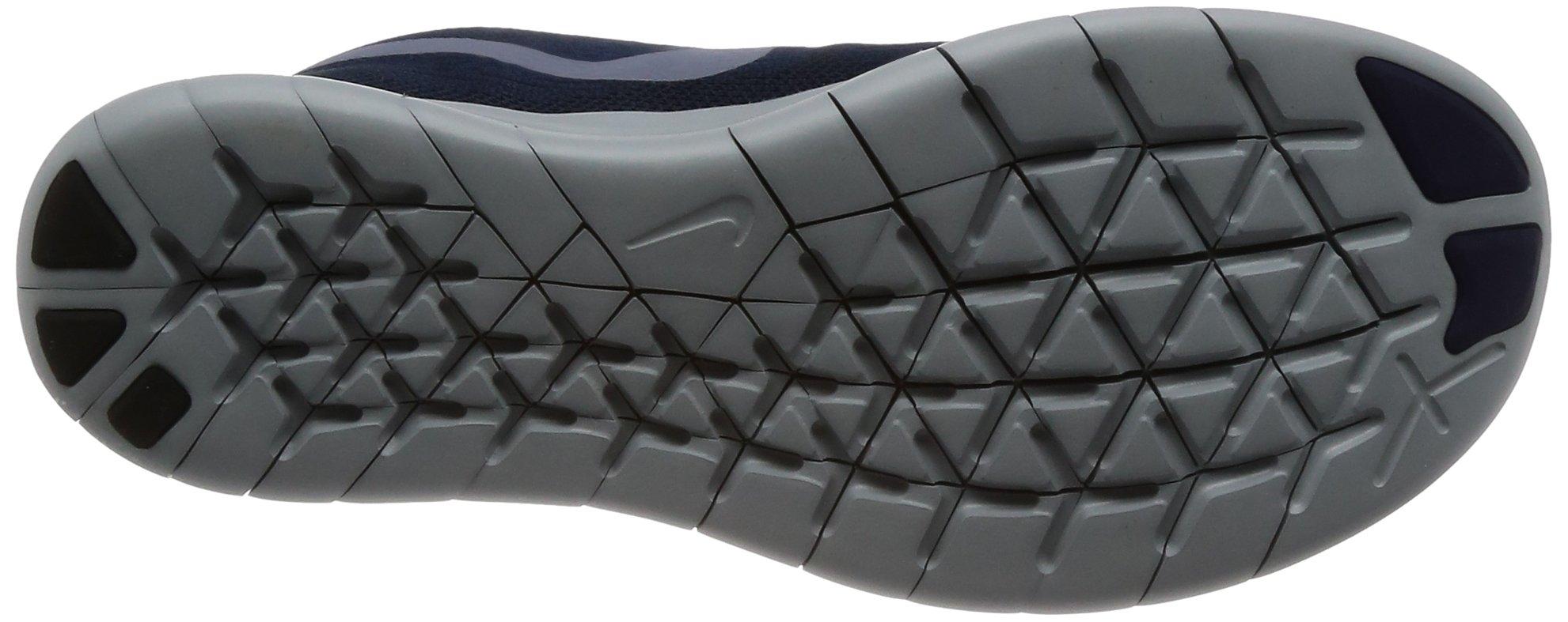 Nike Free RN 2017 Women's Running Shoes (6 M US, Binary Blue/Dark Sky Blue) by Nike (Image #3)