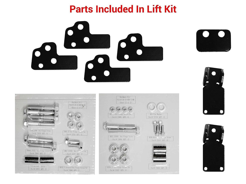 SuperATV 2 Lift Kit for Can-Am Renegade 500//800 1000 GEN 1 SuperATV.com 2008-2012