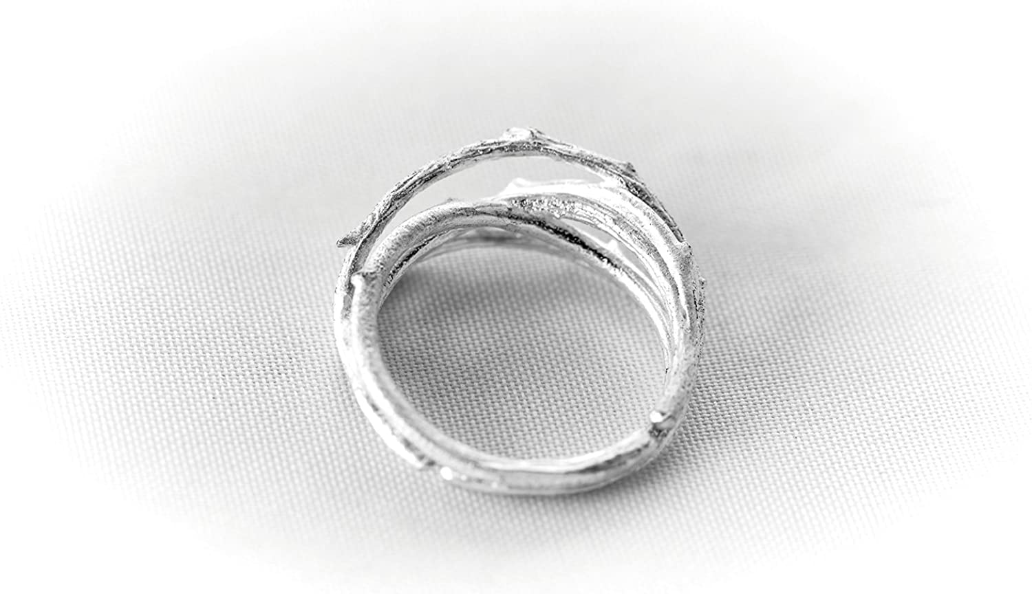Fit Selection Infinity Love Knot Ring Eternity Ring Statement Ring Adjustable Size
