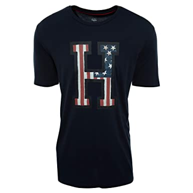 c34afcbb8 Amazon.com: Tommy Hilfiger Men's Short Sleeve Crew Neck
