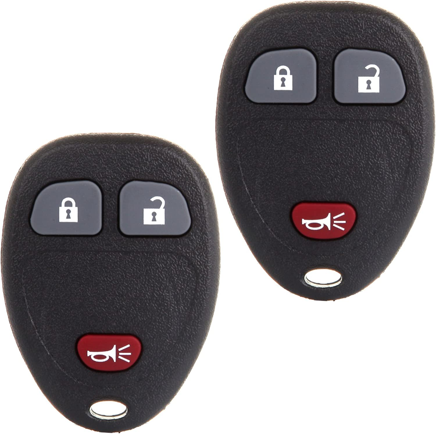 2 Replacement Remote Fob Car Key For 2005 2006 Chevy Uplander