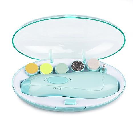 3981e2120 Eléctrico Lima de uñas del bebé, Momcozy Set de Manicura y Pedicura para  Bebé y Adultos ...