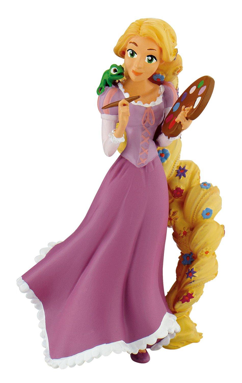 Bullyland parte Figura, Walt Disney Rapunzel con pintor palé, aprox. 10 cm: Amazon.es: Juguetes y juegos