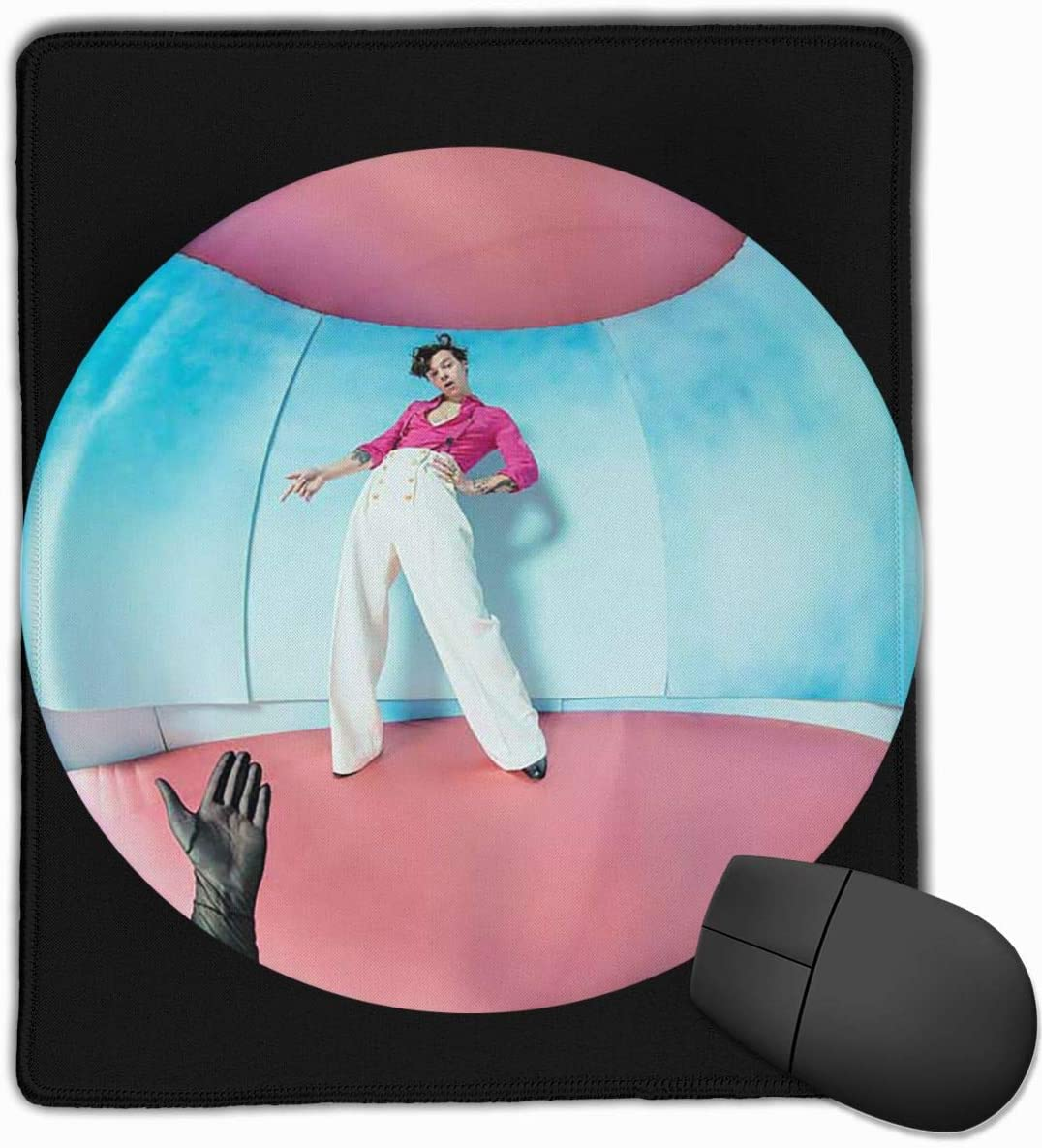 Overlocking Thickening Design Comfortable Feel Mouse Pad 11.8 in /× 9.8 in