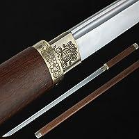 Zhmyyxgs Sword Auway Forge - Espada japonesa de Katana Samurai de acero al carbono