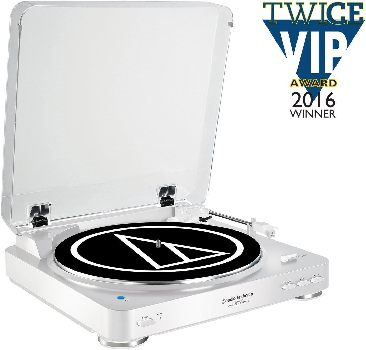 Audio Technica AT-LP60BTWH Color Blanco - Tocadiscos: Amazon.es ...