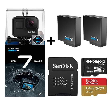 Amazon.com: GoPro Hero 7 Edición negra con dos baterías ...