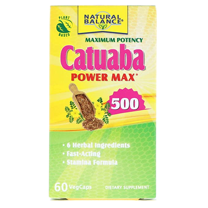 Action Labs, Catuaba Power Max 500, 60 Capsules Vitamins, Minerals & Supplements at amazon
