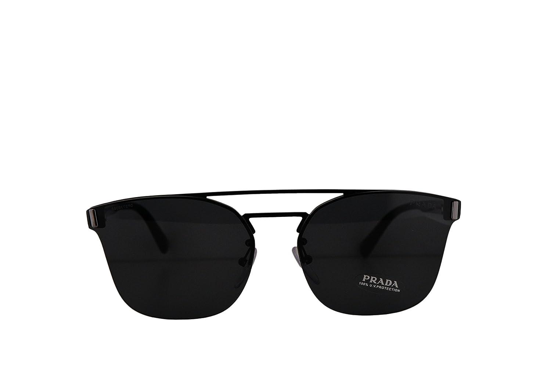 99debfaf291f ... clearance amazon prada pr67ts sunglasses black w black 63mm lens 1ab5s0  spr67t pr 67ts spr 67t
