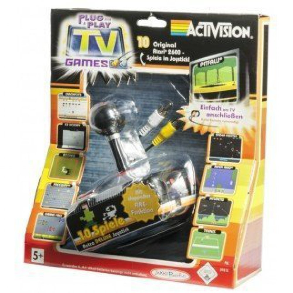 [Unknown]Unknown Activision Plug and Play Retro Joystick Game by Clearance 58126 [並行輸入品] B017O48OE8
